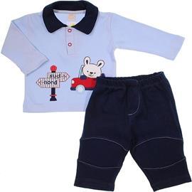 Imagem - Conjunto de bebê em Suedine Viagem - 5890-Conjunto de bebê em Suedine Vi