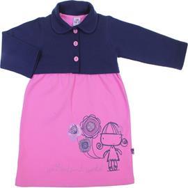 Imagem - Vestido Infantil com Bolerinho Rolú - 6006-Vestido Infantil com Bolerinho