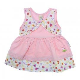 Imagem - Vestido com bolerinho - 10139-vestido-com-bolerinho-rosa-be