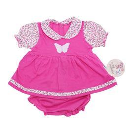 Imagem - Vestido de Bebê com Calcinha  - 7680 Vestido de Bebê com Calcinha p