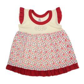 Imagem - Vestido Bebê Floral - 7179-Vestido-bebe-floral-creme