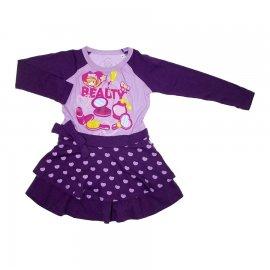 Imagem - Vestido Infantil Penélope Charmosa 5731 - 5731 - Lilás