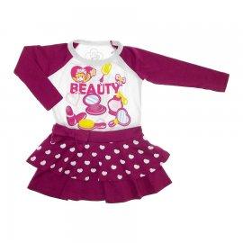 Imagem - Vestido Infantil Penélope Charmosa 5731 - 5731 - Vinho