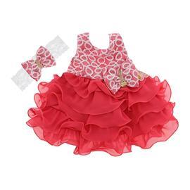 Imagem - Vestido de Festa para Bebê - cod. 8116 - 8116