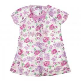 Imagem - Vestido Floral Infantil Bonnemini Girl 6739 - 6739-rosa