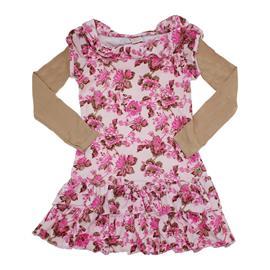 Imagem - Vestido Infantil Plush Flowers - 5774 - Rosa
