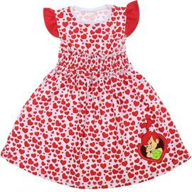 Imagem - Vestido Infantil Pedrita - 5869 - Vermelho