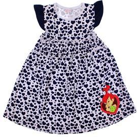 Imagem - Vestido Infantil Pedrita - 5869 - Marinho