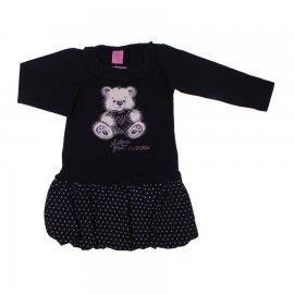 Imagem - Vestido Infantil Saia Balonê 6681 - 6681-urso