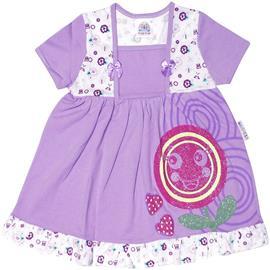 Imagem - Vestido Infantil Florzinha - 4834-Vestido Infantil Florzinh lila