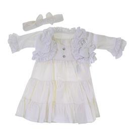 Imagem - Vestido para Bebê Batizado 6911 - 6911