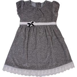 Imagem - Vestido Infantil de Plush Lovely - 5988-cinza