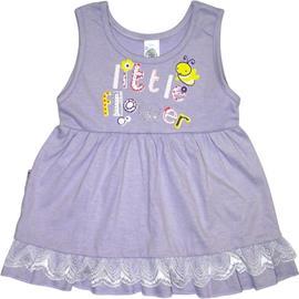 Imagem - Vestido de Bebê Flowers - 5061 - Vestido de Bebê Flowers lila
