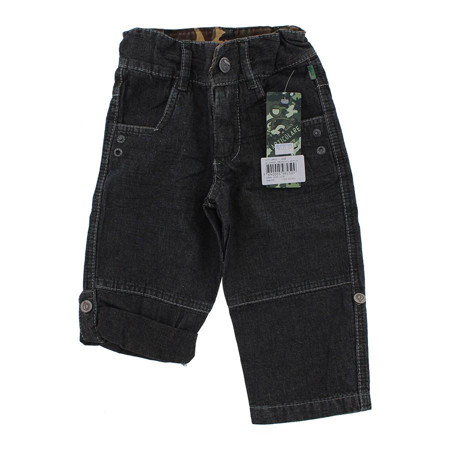 d10dc874fe Calça Jeans Infantil vira Bermuda para Menino - 9713