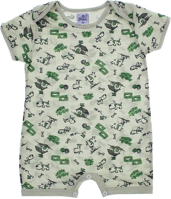 d6a269cbd2b3fc Pijama Infantil para Menino Verão Dog 5851