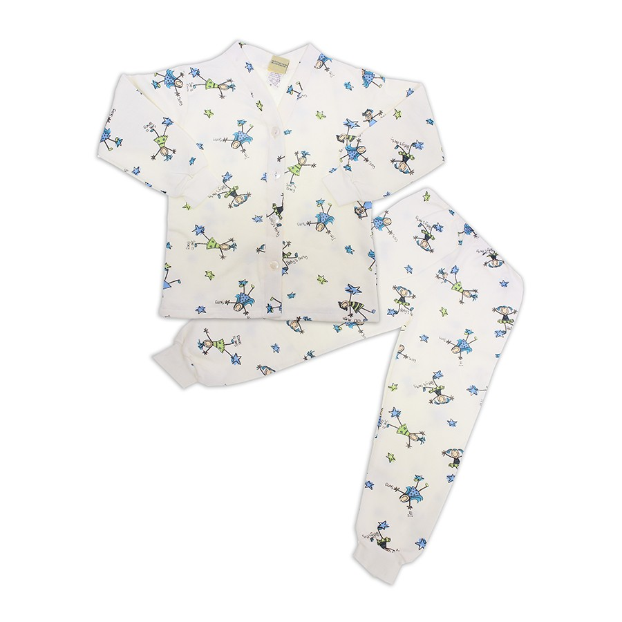 f93409414dcef9 Pijama Infantil Flanelado Menina