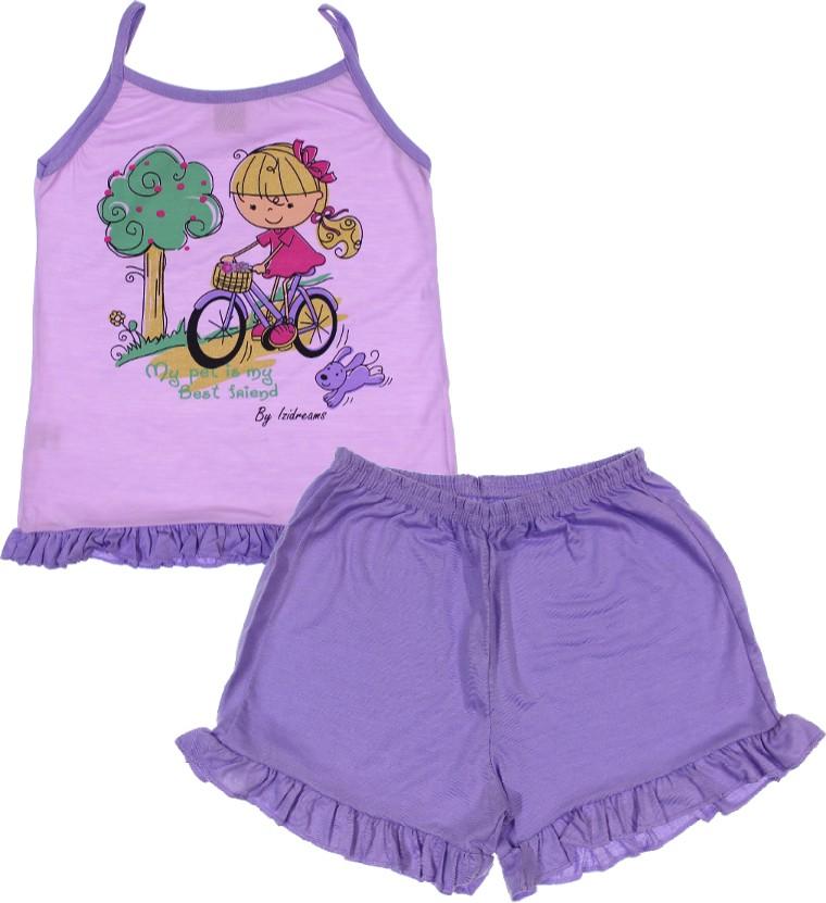 4706fd65c Pijama Infantil - Menina - Izi Dreams - 6592