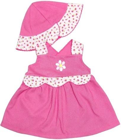 Vestido de Bebê Verão com Chapéu  38c8e4d4d1f