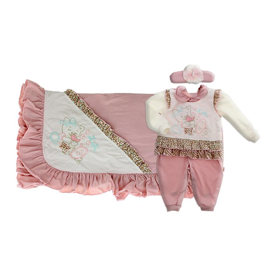 4916dfde3e Saída de Maternidade Feminina Paraíso