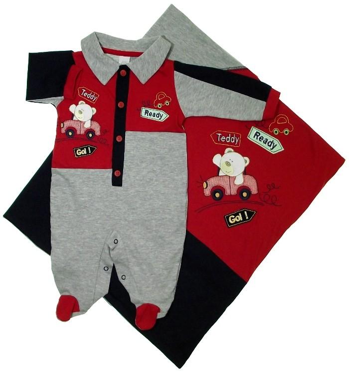 Saída de Maternidade Urso Teddy 5473  103be59a98a