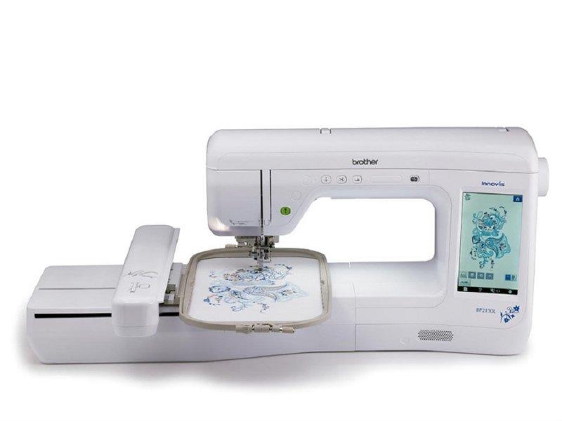 Máquina de Bordado Eletrônica Brother BP2150LDV + Kit Essencial