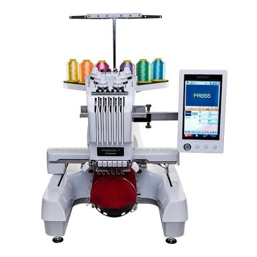 Máquina de Bordar Computadorizada Profissional Brother PR655C 2742239926d