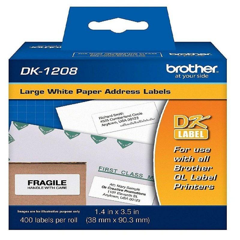 Etiqueta DK1208