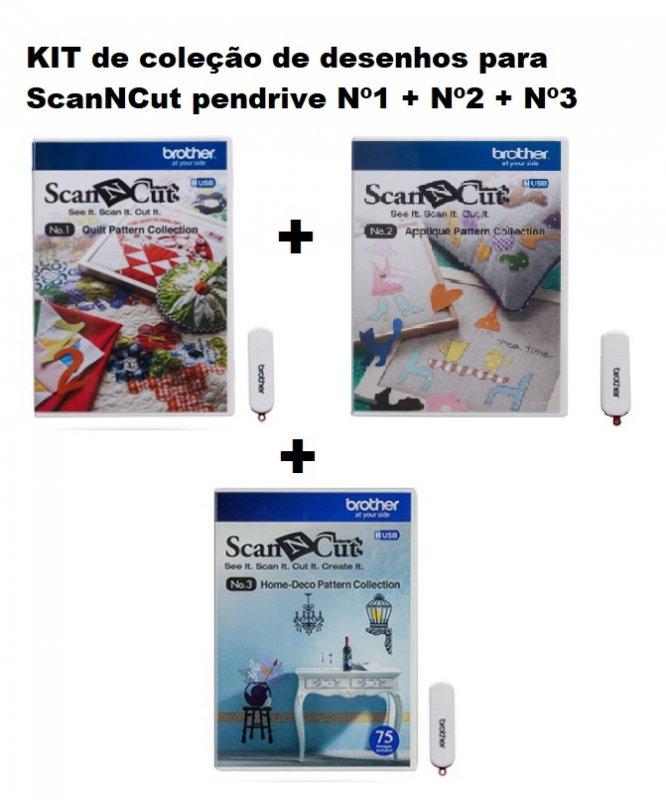 KIT de coleção de desenhos para ScanNCut