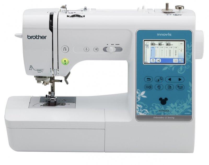 Máquina de Costura e Bordado Eletrônica Brother NV960DLDV