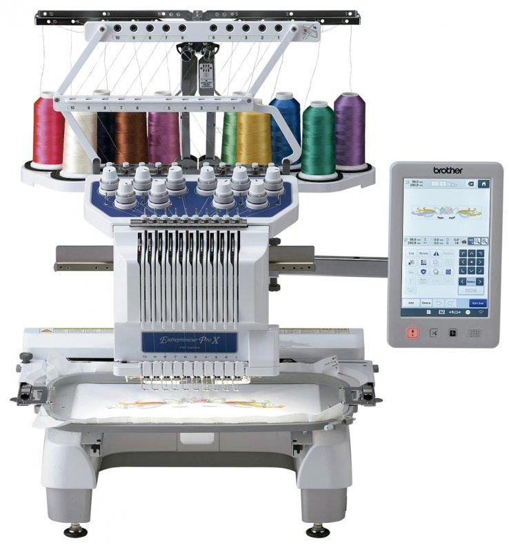 Máquina de Bordado Computadorizada com 10 Agulhas PR1055X