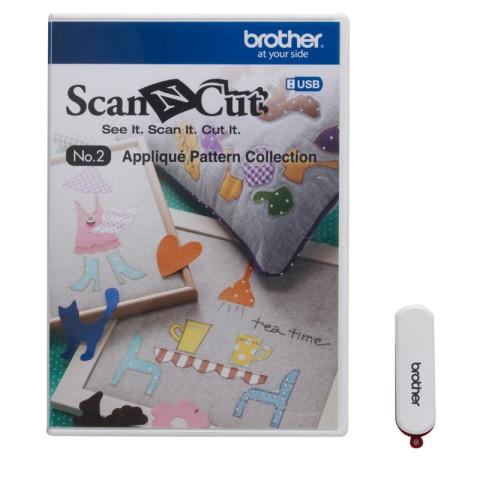 Coleção de desenhos de recorte ScanNCut