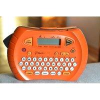 Rotulador eletrônico laranja PT-70 Brother BT 3