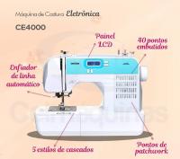 Máquina de Costura Eletrônica Brother CE4000 (110V) 6