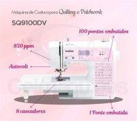 Máquina de Costura Brother SQ9100DV +  Kit de Calcadores 2