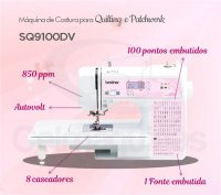 Máquina de Costurar para Quilting e Patchwork Brother SQ9100DV Celmaquinas 4