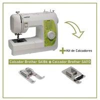 Máquina de Costura Mecânica Brother BM2800+ Kit Calcadores