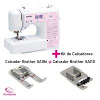 Máquina de Costura Brother SQ9100DV +  Kit de Calcadores