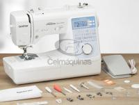 Máquina de Costurar Eletrônica Brother NS80TLDV Celmaquinas 4