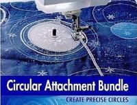 Calcador para Criar Círculos Brother Sacirc1