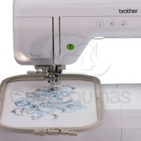 Máquina de Bordar Brother BP2150LDV área 20 x 30cm 5