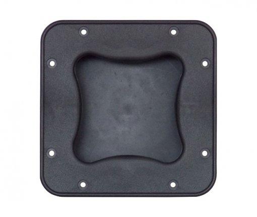 Alça para embutir feita em plastico para caixa acústica | Ludovico | 16.096