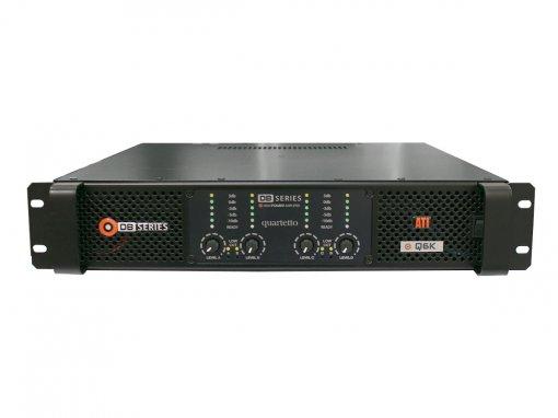 Amplificador de áudio, Classe D com 4 canais de até 1525W RMS em 2 ohms | DB Series | Q6K