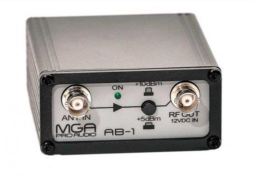 Amplificador de sinal para microfone sem fio   MGA Pro Audio   AB-1