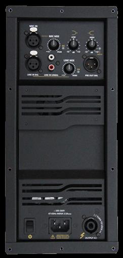 Amplificador digital para gabinete acústico com 700W @ 4Ω - 8Ω | Next Pro | M700 MIX