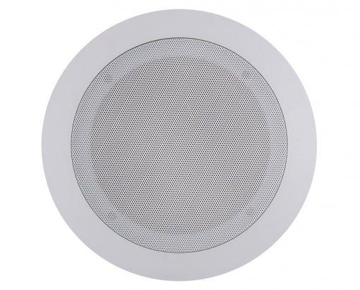 Arandela redonda 2 vias com alto-falante coaxial de 6
