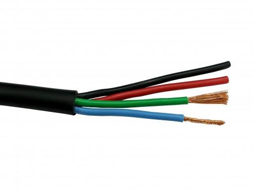 Cabo de sinal emborrachado de 4 vias | espessura 4x2,5mm | Box-4×2,5mm | Data Link