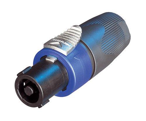 Conector SpeakOn de cabo / linha fêmea de 4 pólos