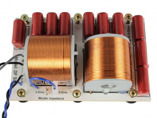 Divisor de Frequência Passivo 1 via | Sub-Grave de até 600W RMS | DFSUB | Nenis