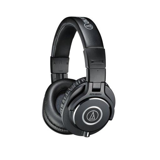 Fone de cabeça profissional para monitoramento (over-head)   ATH-M40x   Audio Technica