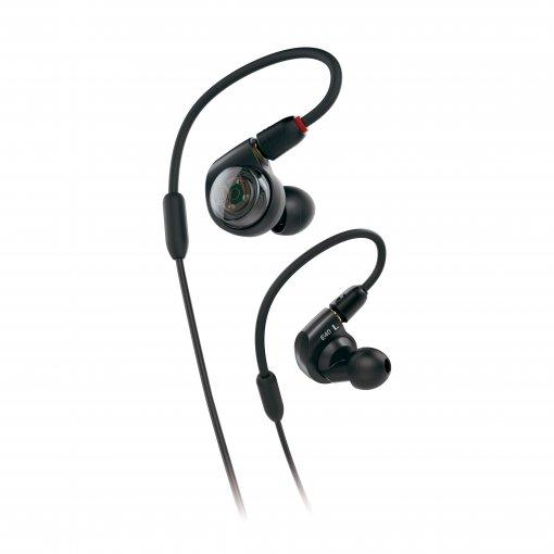 Fone de ouvido intra-auricular profissional para monitoração (in-ear) | ATH-E40 | Audio Tecnhnica